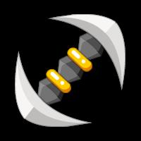 Bedazzling Double Hakken Axe
