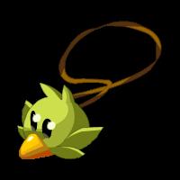 Green Piwi Amulet
