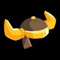 Bronze Bwork Helmet