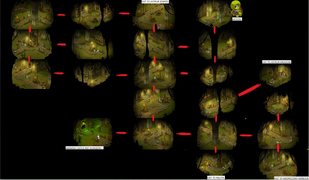 Amakna Castle Tunnels
