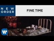 New Order - Fine Time -OFFICIAL MUSIC VIDEO-