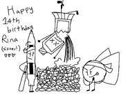 Happy Birthday Rina