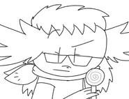 Don't touch Verda's lollipop