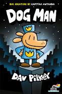 Dog Man Italian Cover