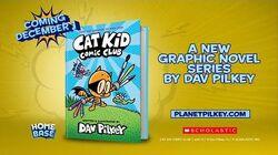 Cat Kid Comic Club by Dav Pilkey Sneak Peek