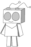 Very nice cardboard robot