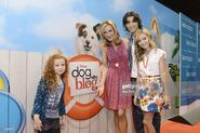 D23 EXPO - Cast of Dog With A Blog
