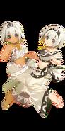 Saraana & Uruuru Dokapon UP