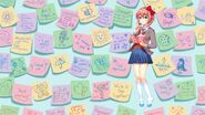 DDLC Plus Understanding 2 New Sayori Sticky Notes BG