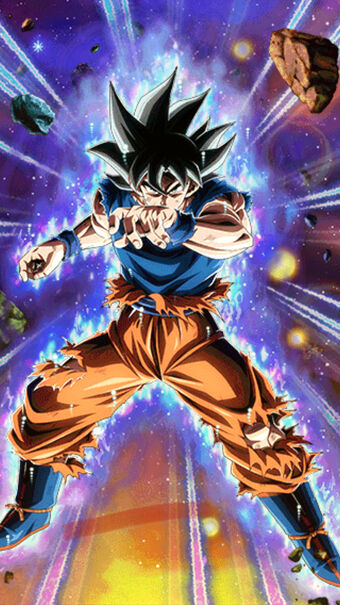 Signe De Renversement Son Goku Signes De L Ultra Instinct Wiki Dokkanbattlefr Fandom