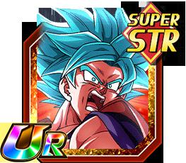 Atout surpuissant - Son Goku Super Saiyan divin SS (Kaioken)