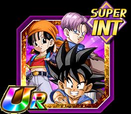 Combat féroce sur une planète inconnue - Son Goku (GT) & Pan (GT) & Trunks (GT)