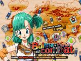 Bulma parée au combat