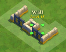 Wall and Gate Level 15