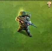 Veteran Republic Rifleman