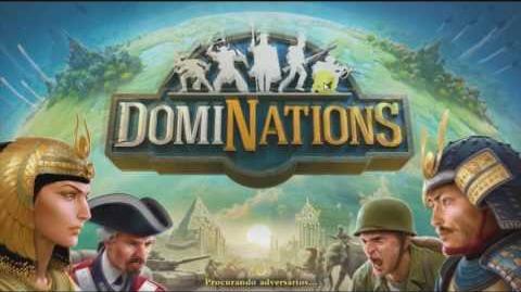 DomiNations Aproveite a reunião 100% - Atualização 4