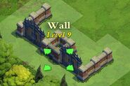 Wall and Gate Level 9