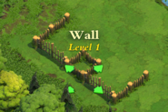 Wall and Gate Level 1