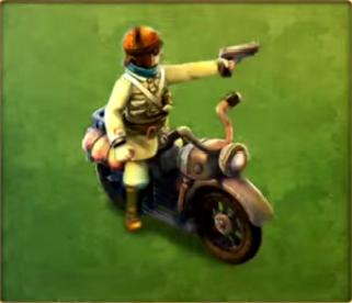 Motorcycle Raider