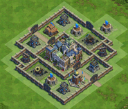 90 Walls Medieval War Base
