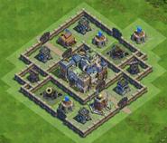 90 Walls Medieval War Base