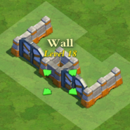Wall and Gate Level 18