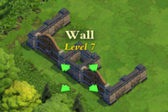 Wall and Gate Level 7