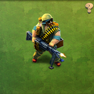 Valiant Machine Gun