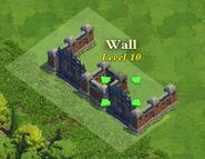 Wall and Gate Level 10