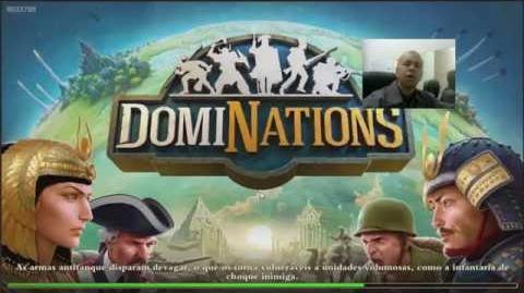 DomiNations Defesa, Ataque, Layout