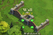 Wall and Gate Level 5