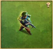 Green Jacket Rifleman