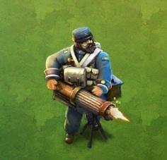 Heavy Gatling Gun