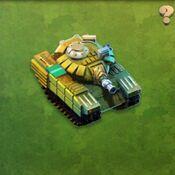 Veteran Leopard Tank