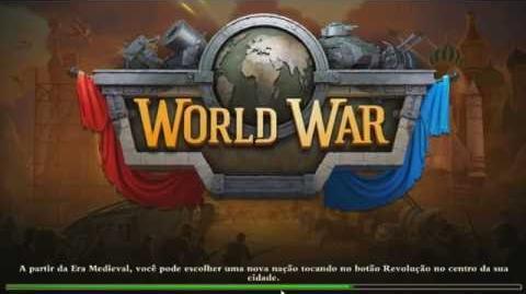 DomiNations War - Alemães vs Japoneses