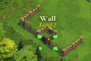 Wall and Gate Level 2