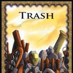 Trash Card