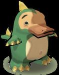 Duck-billed Dragon