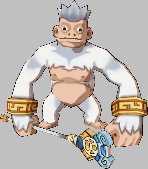 White Divine Monkey Shaman