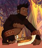 Wild Monkey Leader
