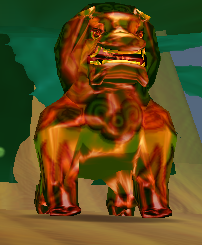 Mystic Stone Lion