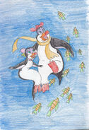 Hubie and marina s fish date by rogersgirlrabbit dc8qwzu-fullview