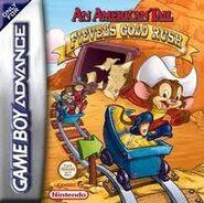 An American Tail - Fievel's Gold Rush (game box art)