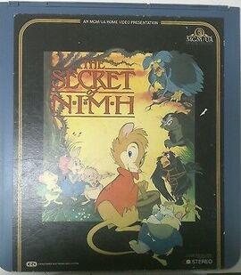 NIMH 1983 CED Videod