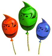 Balão de DKC1