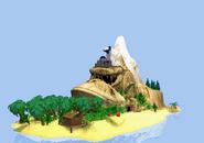 Ilha DK 1 (GBA)