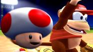 Mario Superstar Baseball Diddy Kong