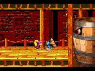 Donkey Kong Country 3 (GBA) - Lake Orangatanga - Belcha's Barn