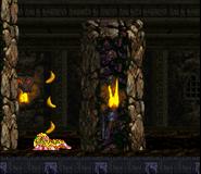 DKC2 - Castle Crush glitch (Squitter)