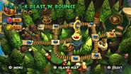DKCR Level 5 K Blast n Bounce